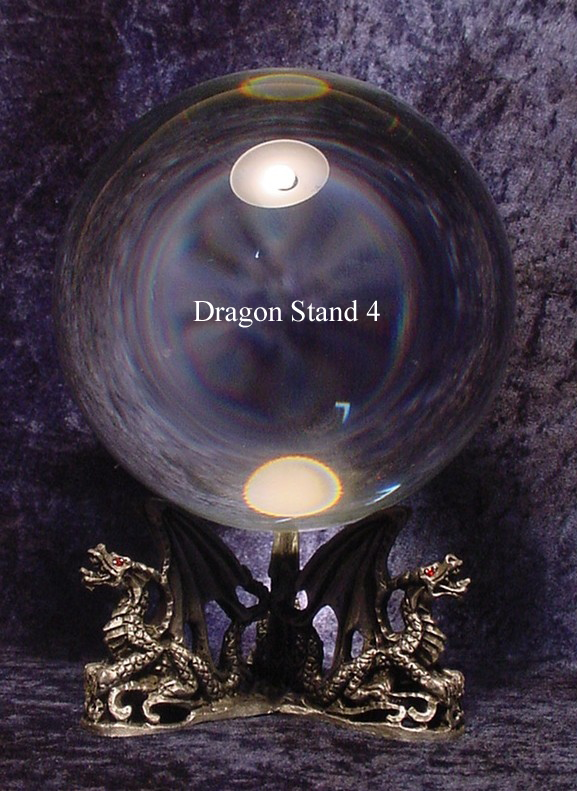 Pewter Dragon Stand