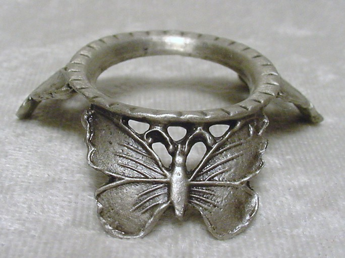 Pewter Butterfly Stand