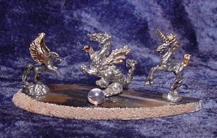 Pewter Diorama