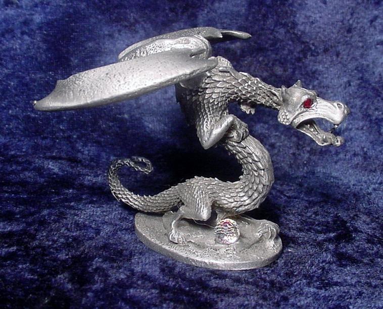 Pewter Dragon