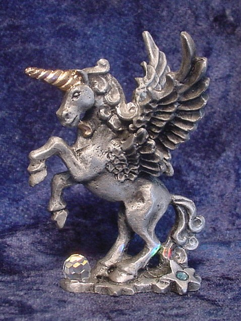 Pewter Pegacorn