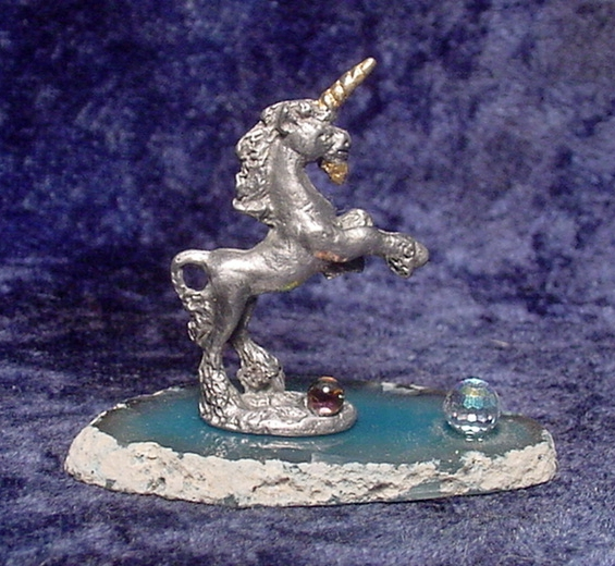 Pewter Unicorn