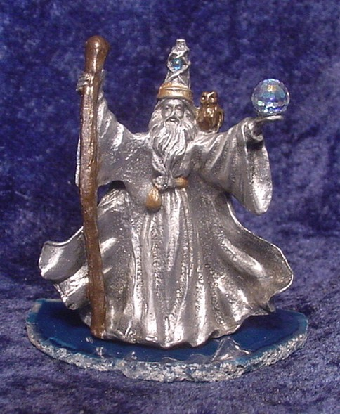 Pewter Wizard