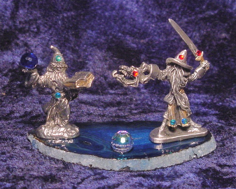 pewter wizards battle magic