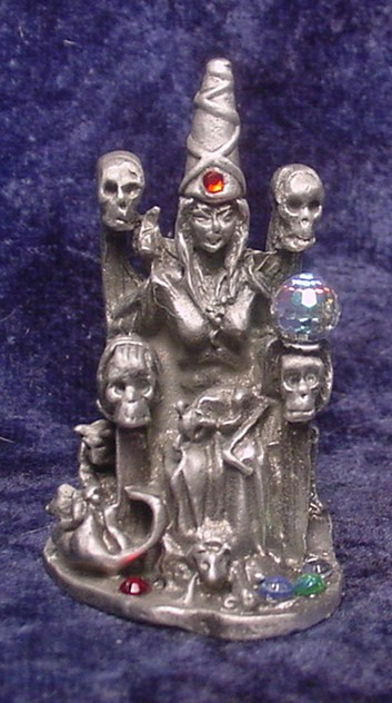 Pewter Witch