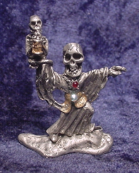Pewter Skeleton