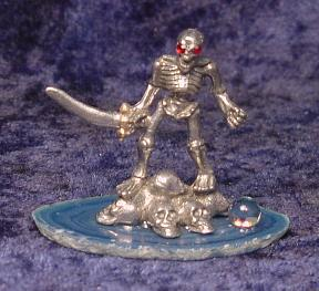 Pewter Undead Warrior