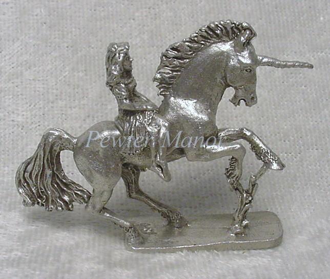 Pewter Unicorn