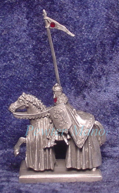 Pewter King Arthur of the Britons