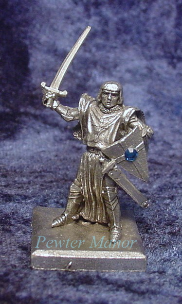 Pewter Sir Galahad the Pure