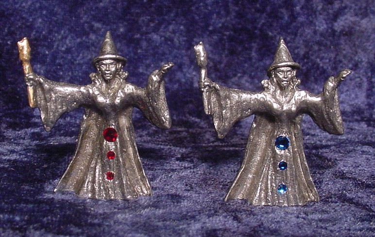 pewter chess set